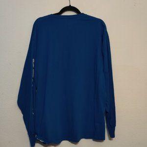 NFL Shirts - Indianapolis Colts XL Blue Long Sleeve T-Shirt NFL